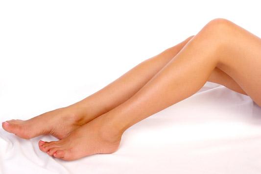 épilation des jambes - femme