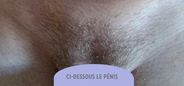 épilation du pubis au masculin