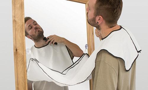 tablier bavoir à barbe